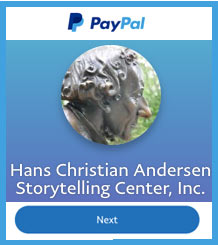PayPal link Hans Christian Andersen Storycenter